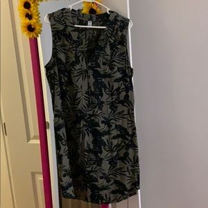 Green size L old navy dress